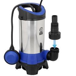 Schmutzwasserpumpe mit Schwimmschalter, 1100W, aus PVC