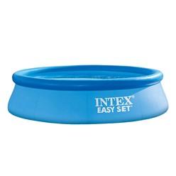 Intex Family Pool rund, 244x244x61 cm, blau, aufblasbar