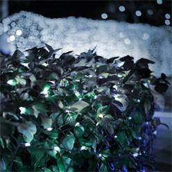 LED Lichtervorhang 2m kaltweiß 160 LED