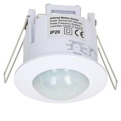 Bewegungsmelder 360°, 1200-3000W, Infrarot Sensor, IP20
