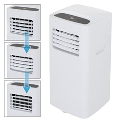 Mobile Klimaanlage, 4in1 Funktion, 2000W, inkl. Fernbedienung