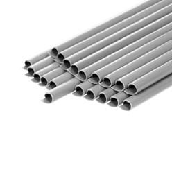 Sichtschutz Stahlmattenzaun 65m Grau
