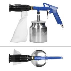 Druckluft-Sandstrahlpistole mit 2,4 kg Sand