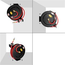 Automatischer Profi Druckluftschlauch mit Aufroller