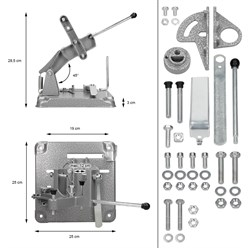 Trennständer Winkelschleifer 115-125mm