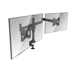 """Doppel-Monitor-Tischhalterung schwenkbar 13"""" - 27"""""""