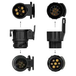 Anhängerbeleuchtungs-Prüfgerät 7 und 13-polig 12 Volt
