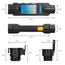 Anhänger Prüfgerät Tester 7-13 polig 12 V Trailer
