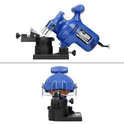 Affûteuse électrique de chaînes 220 watts poids 1,65 kg 7500 r/min aiguseur scie