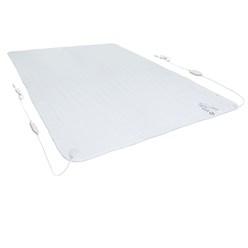 2-Zonen Heizdecke Polyester 160 x 140 cm