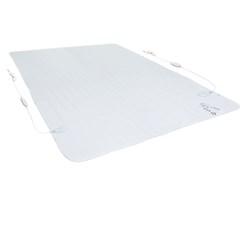 2-Zonen Heizdecke Polyester 180 x 152 cm
