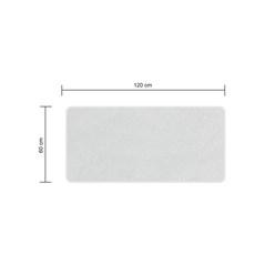 60 x 120 cm protège-matelas lit imperméable respiratoire anti-allergène housse