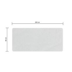 80x200cm protège matelas contre incontinence résistante à l'eau couverture lit