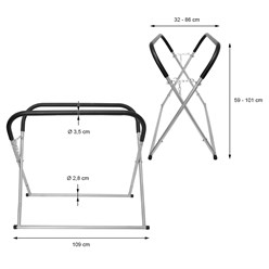 Painting stand foldable