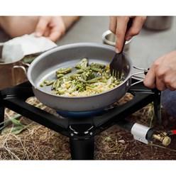 Hockerkocher mit  Druckminderer und Schlauch 100 cm