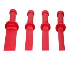 Kunststoff-Schaber Set 4-teilig