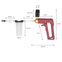 Universal Vakuumpumpe inkl. 8 Zubehöradapter und Koffer