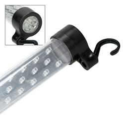 LED-Akku-Stableuchte mit Taschenlampen-Funktion