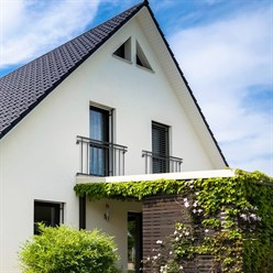 Französischer Balkon 90 x 156 Anthrazit