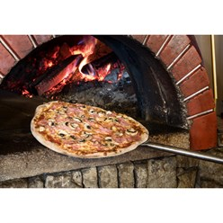 Pizzaschaufel Edelstahl 660mm Schaufel Ø210mm