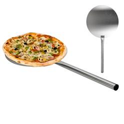 Pizzaschaufel Edelstahl XXL 660mm Schaufel Ø310mm