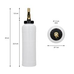 Druckluft Bremsentlüftungsgerät mit Nachfüllflasche