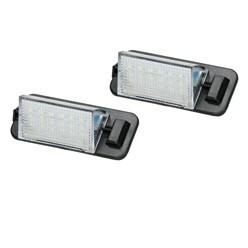 2 x LED-Kennzeichenbeleuchtung mit E-Prüfzeichen BMW 3