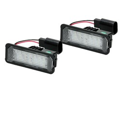LED Kennzeichenbeleuchtung mit E-Prüfzeichen VW