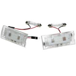LED-Kennzeichenbeleuchtung mit E-Prüfzeichen BMW X3 X5