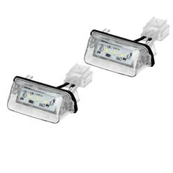 Kennzeichenbeleuchtung mit E-Prüfzeichen Peugeot Citroen