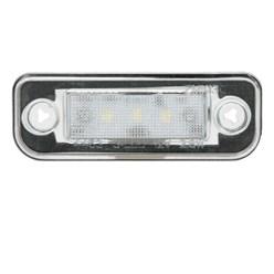 Kennzeichenbeleuchtung Mercedes mit E-Prüfzeichen