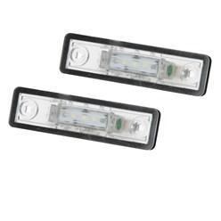 LED-Kennzeichenbeleuchtung mit E-Prüfzeichen Opel