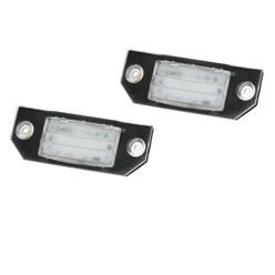 Kennzeichenbeleuchtung mit E-Prüfzeichen Ford