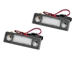 Kennzeichenbeleuchtung mit E-Prüfzeichen Skoda