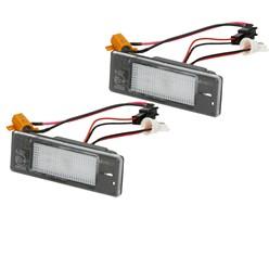 Kennzeichenbeleuchtung Citroen Peugeot mit E-Prüfzeichen