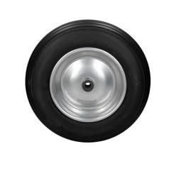 Schubkarrenrad Vollgummi Schwarz 350 x 80 mm