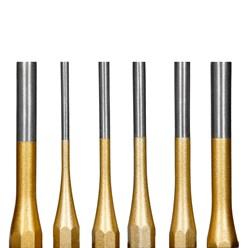 Splintentreiber Set 6 Stuck 3-8mm Metallbox