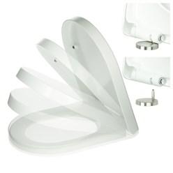 Klodeckel Toilettendeckel weiß IP-056w