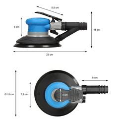 150mm Druckluft Exzenterschleifer