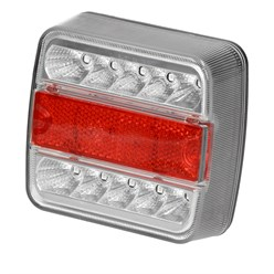 LED Anhänger Rückleuchte e4 mit Magnet 7,5 m