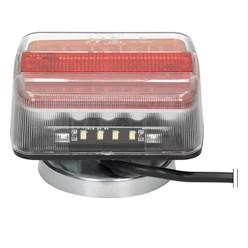 LED Anhänger Rückleuchten mit Magneten 12V mit E4 Prüfzeichen