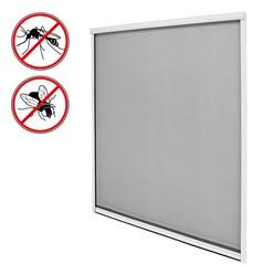 Insektenschutzrollo Alu 160x160cm weiß