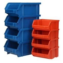 Wandregal mit Stapelboxen 31 tlg