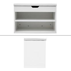 Schuhbank Weiß