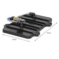 Anschluss Adapter Set 11 Teilig für Druckluft Bremsenentlüfter