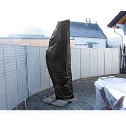 Abdeckung Gartenschirm schwarz