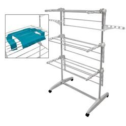 Mobiler Wäscheständer 3 Ebenen