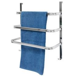 Handtuchhalter Tür verchromt