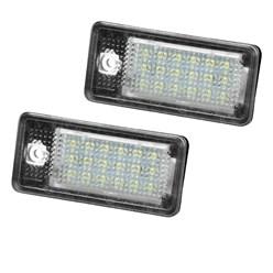Kennzeichenbeleuchtung Audi mit E-Prüfzeichen