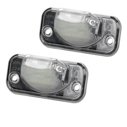 LED-Kennzeichenbeleuchtung mit E-Prüfzeichen VW Transporter T4